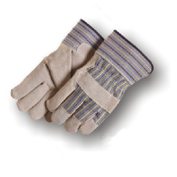 Leather Palm Work Gloves (Premium Grade)