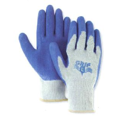 Palm Dipped Work Gloves (Summer Style - Blue Coated)