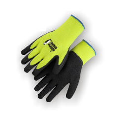 Palm Dipped Work Gloves (Summer Style - Black Coated)