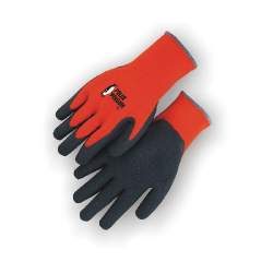 Palm Dipped Work Gloves (Winter Style - Black Coated)