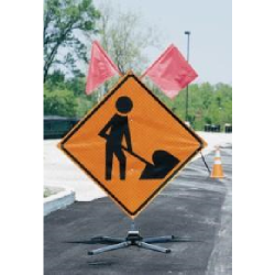 Compact Sign Stand (Order of 76+ Units)