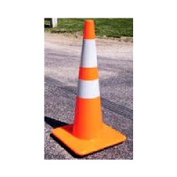 Reflective Traffic Cone (Order Of 20 - 49 Cones)