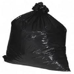 Trash Can Liners - Black - 55 gallon